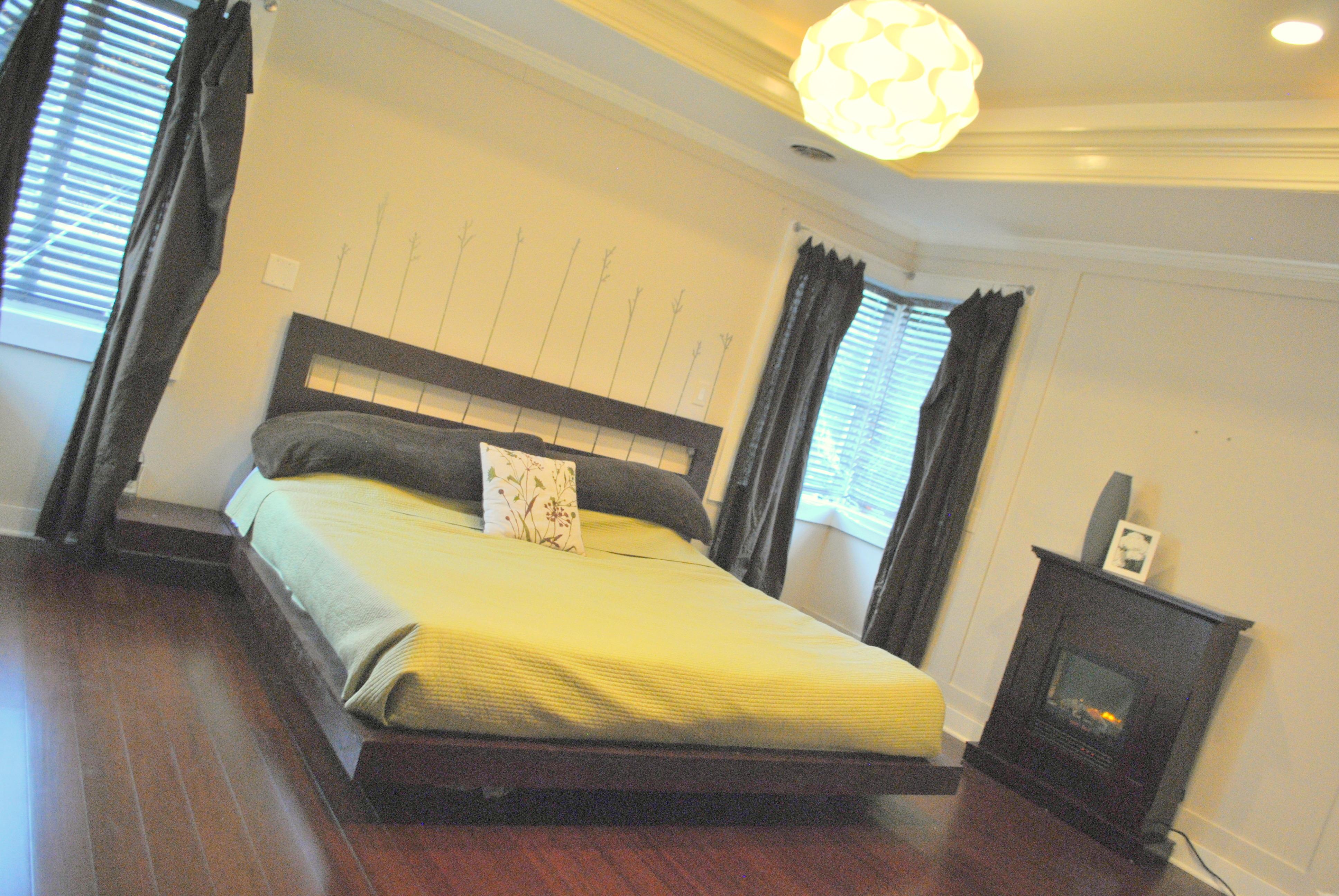 How to make a king size bed - King Size Bed Platform Diy