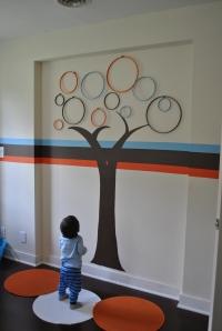 Modern circle tree